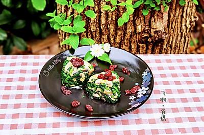 蔓越莓拌蘑菇片蓬好菜
