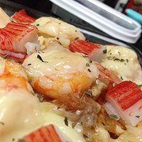 西班牙焗烤海鲜饭的做法图解2