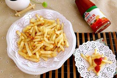 轻松炸薯条(空气炸锅详细步骤版)