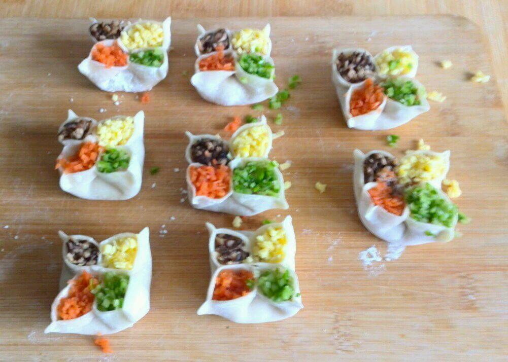 四喜蒸饺的做法图解5