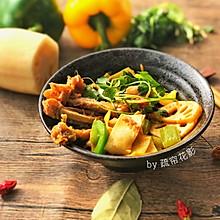 酱香干锅鸭#食光社干锅鸭#