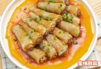 竹荪酿肉的做法