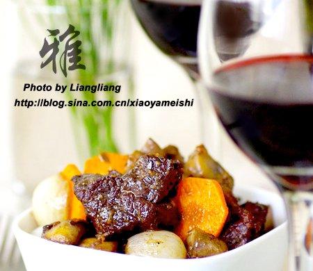 红酒炖牛肉