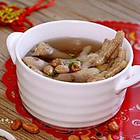 花生鸡爪汤#盛年锦食·忆年味#