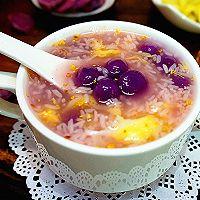 紫薯汤圆酒酿羹的做法图解14