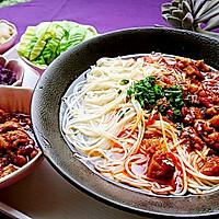 辣肉面·上海味道·蜜桃爱营养师私厨 苏式面馆的招牌的做法图解7