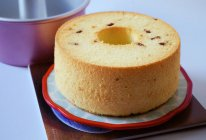 酸奶蔓越莓戚风蛋糕的做法