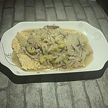 羊肉三鲜锅巴