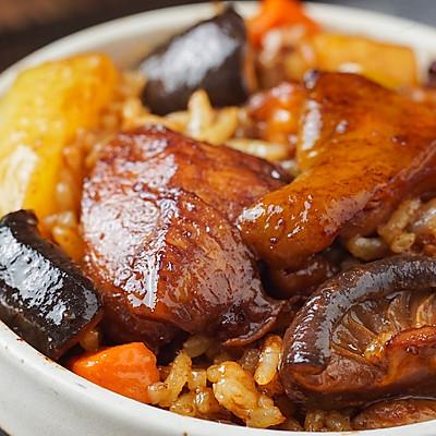 日食记丨香菇鸡肉焖饭