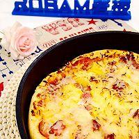 夏威夷披萨#不思烤就很好#老板R015烤箱试用