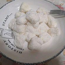 椰丝牛奶小方