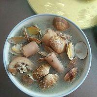 猪尾巴花蛤汤的做法图解2