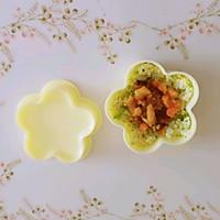 豌豆汁心饭团 太太乐鲜鸡汁蒸鸡原汤的做法图解15