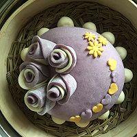 紫薯玫瑰花蛋糕的做法图解23