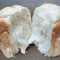 柔软拉丝的吐司-东菱面包机的做法图解15