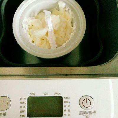 酸奶冰淇淋【柏翠面包机】