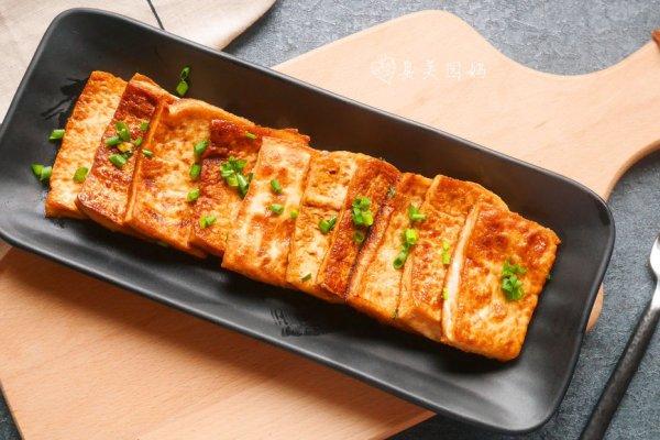 少油低脂的香煎脆皮豆腐的做法