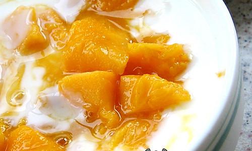 芒果酸奶的做法