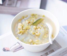 #父亲节,给老爸做道菜#冬瓜绿豆汤的做法