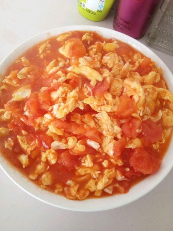 番茄炒蛋的做法