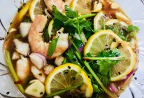 柠檬虾的做法