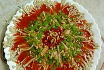 凉拌金珍菇的做法