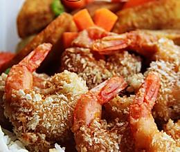 【炸虾】留学生便当③:炸虾+土豆角+胡萝卜的做法