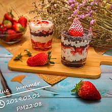 快手甜品—草莓酸奶杯