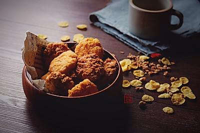 玉米片黄油曲奇&燕麦黄油曲奇