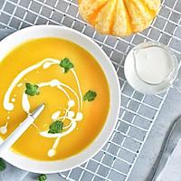 营养不流失,极简版奶油南瓜浓汤的做法图解4