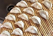 韭菜菠菜扇贝肉馅饺子的做法