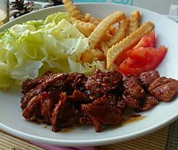 深夜食堂之姜烧猪肉【菁选酱油试用】的做法