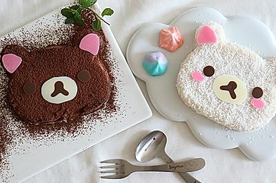 健康夏日宝宝甜点:萌萌轻松熊豆奶冻
