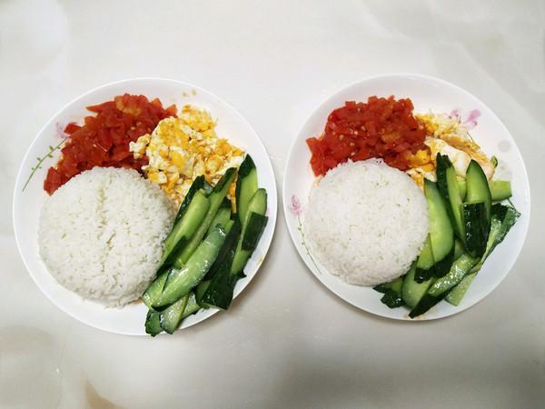 维生素丰富的营养简餐2人份的做法