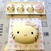 Hello Kitty 酸奶乳酪慕斯蛋糕的做法图解40