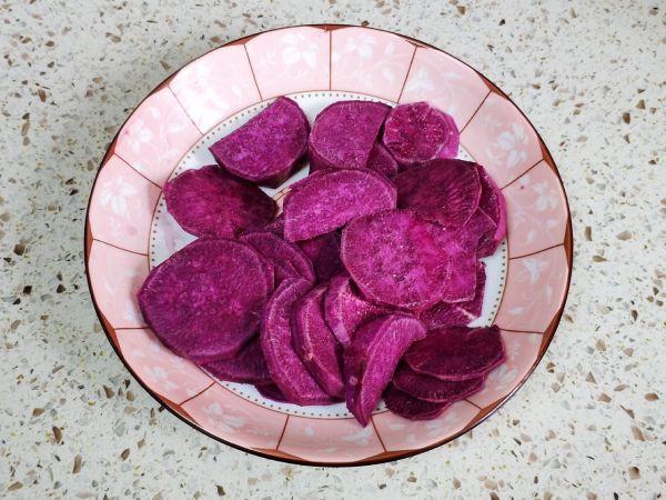 流心紫薯挞