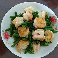 黄金虾仁儿炒芦笋的做法图解7