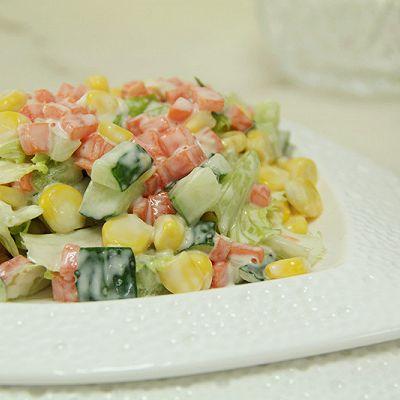 塑造A4腰的食谱——蔬菜沙拉