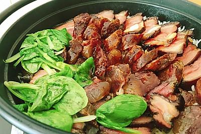铸铁锅焖出奇香煲仔饭