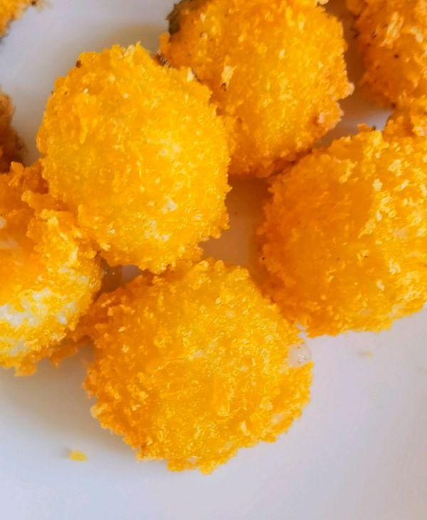 炸元宵—外酥里嫩,香甜可口的做法