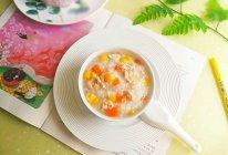 胡萝卜玉米瘦肉粥的做法