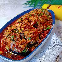 #豪吉川香美味#用这种料汁做的口水鸡也太好吃了叭的做法图解4