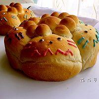 龙猫夹馅面包的做法图解8