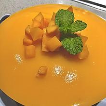 #豆果10周年生日快乐#好吃不用烤箱的芒果慕斯蛋糕