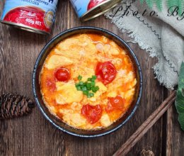 超级下饭的穆蒂樱桃番茄鸡蛋汤的做法