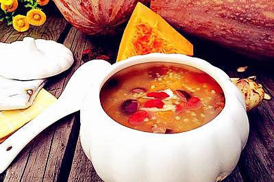 小米南瓜粥------养胃必备