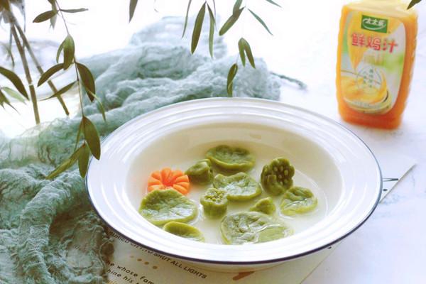 小荷叶小莲蓬汤之蔬菜面疙瘩
