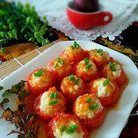猪肉土豆酿西红柿的做法图解9