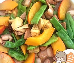 南瓜豆角炖肉的做法