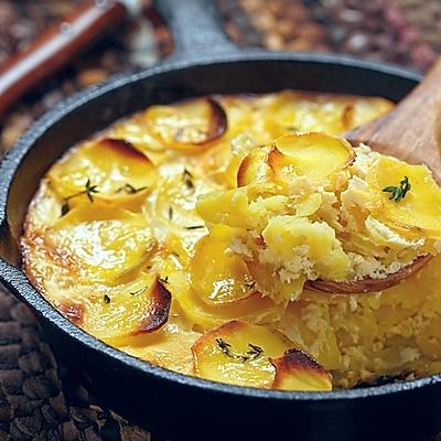 奶酪烩土豆